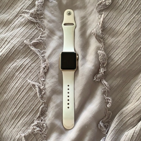 Gold Apple Watch series 1